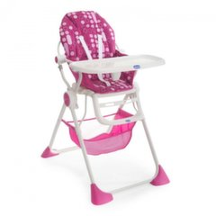 Maitinimo kėdutė Chicco Pocket Lunch, miss pink