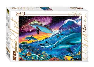 """Dėlionė Step Puzzle 560 """"Povandeninis pasaulis"""""""