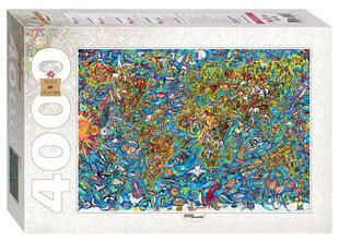 """Dėlionė Step Puzzle 4000 """"Pasaulio žemėlapis"""""""