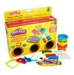 Plastilino rinkinys Play Doh Shape and Colour Fun