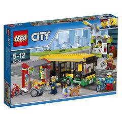 60154 LEGO® CITY Autobusų stotis kaina ir informacija | Konstruktoriai ir kaladėlės | pigu.lt