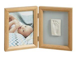 Dvigubas stačiakampis nuotraukos rėmelis su įspaudu Baby Art, honey