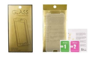 Apsauginis stiklas Gold skirtas Apple iPhone 5 / 5S / SE