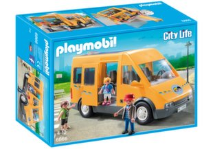 Конструктор 6866 PLAYMOBIL® School bus