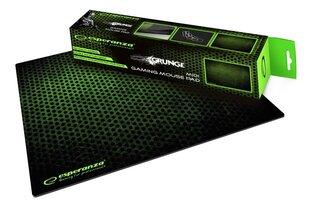 Pelės kilimėlis žaidimams Esperanza EGP102G, juoda-žalia