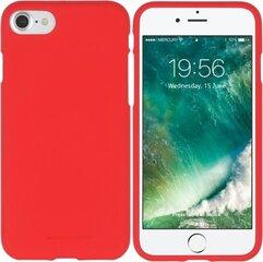 Mercury SoftJelly silikoninis nugarėlės dangtelis telefonui Samsung Galaxy J5 (2016) J510, Raudonas kaina ir informacija | Mercury SoftJelly silikoninis nugarėlės dangtelis telefonui Samsung Galaxy J5 (2016) J510, Raudonas | pigu.lt