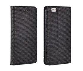 Atverčiamas dėklas Mocco Smart Magnet Book skirtas LG K100 K3, Juoda kaina ir informacija | Telefono dėklai | pigu.lt