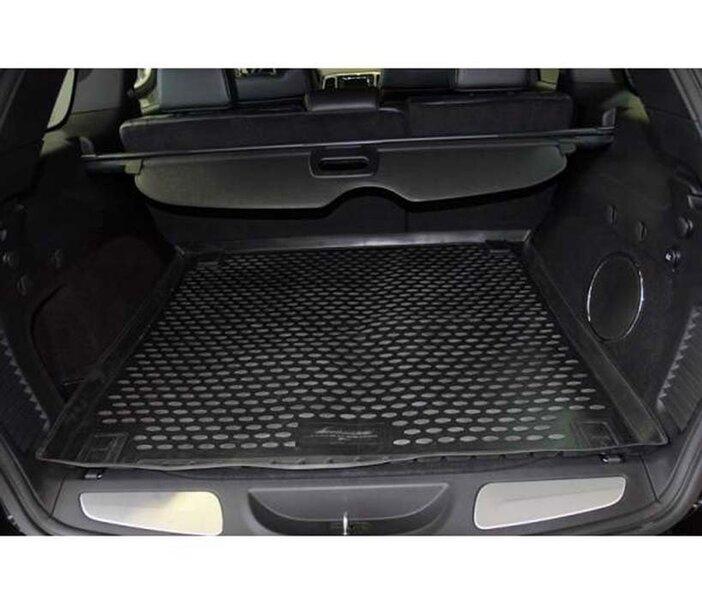 Guminis bagažinės kilimėlis JEEP Grand Cherokee 2011-2014, 2014-> black /N20006