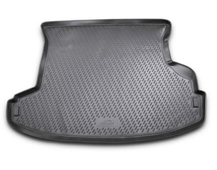 Guminis bagažinės kilimėlis NISSAN X-Trail (Т30) 2001-2007 black /N28036