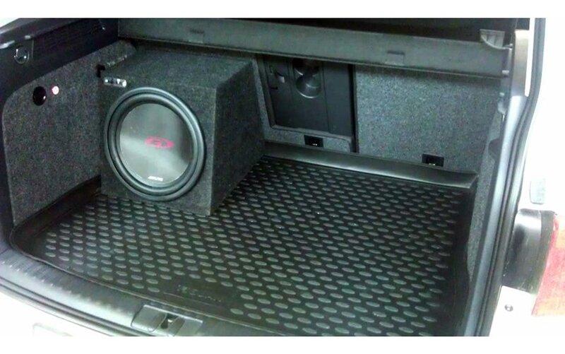 Guminis bagažinės kilimėlis VW Tiguan 2007-2016 black /N41025