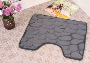 "Memory foam kilimėlis ""Benedomo"" Deep grey, 50x60 cm kaina ir informacija | Memory foam kilimėlis ""Benedomo"" Deep grey, 50x60 cm | pigu.lt"