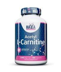 Maisto papildas Haya Labs Acetyl L-Carnitine 100 kaps. kaina ir informacija | Vitaminai ir maisto papildai gerai savijautai | pigu.lt