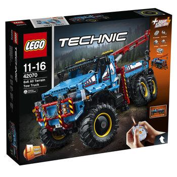 42070 LEGO® Technic 6 x 6 visureigis vilkikas