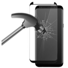 Samsung Galaxy S8 Extreme Tempered Glass 9H By Ksix Black kaina ir informacija | Samsung Galaxy S8 Extreme Tempered Glass 9H By Ksix Black | pigu.lt