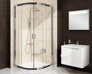 Pusapvalė dušo kabina Ravak BLCP4-90 Transparent, 90x90 cm