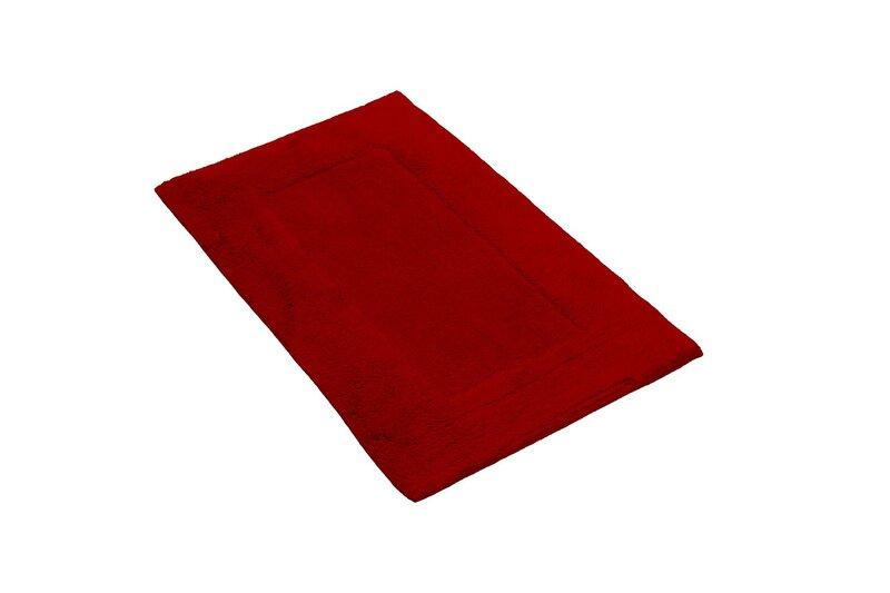 Minkštas medvilnės kilimėlis Softy Red, 50x80 cm