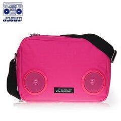 Fydelity G-Force Bag (35х20х10cm) with Speaker Pink kaina ir informacija | Krepšiai, kuprinės, dėklai kompiuteriams | pigu.lt