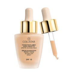 Skystas makiažo pagrindas Collistar Second Skin Effect SPF15 30 ml