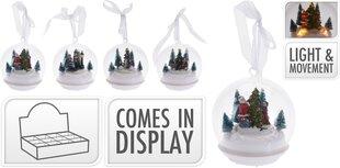 Stiklinis sniego burbulas kaina ir informacija | Kalėdinės dekoracijos | pigu.lt