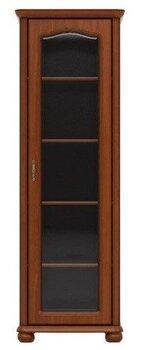 Dešininė vitrina Natalia 70P, ruda