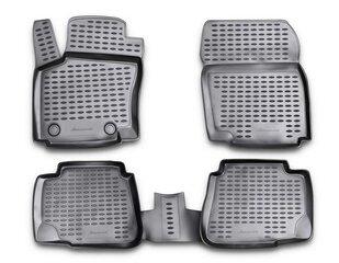 Guminiai kilimėliai 3D FORD Mondeo 2007-2014, 4pcs. /L19102G /gray