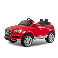 Elektrinis vaikiškas automobilis Hecht Audi Q7, raudonas kaina ir informacija | Elektromobiliai vaikams | pigu.lt
