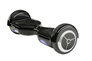 SkyMaster Powerfull Scooter for Kids IP54 / 300W / 4.5'' / 10 km / 60 kg Black