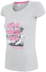 Marškinėliai moterims 4F TSD002