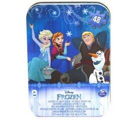 CARDINAL GAMES dėlionė 3D 48d. metalinėje dėž. Frozen, 6033229