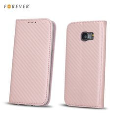 Forever Carbon Smart Magnetic Fix Book Case without clip Samsung J530F Galaxy J5 (2017) Pink