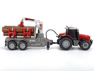 Traktorius su priekaba ir rąstais Dickie Toys