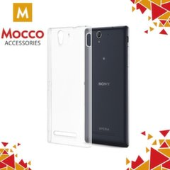 Mocco Ultra Back Case 0.3 mm Silicone Case for Sony Xperia XZ Transparent kaina ir informacija | Telefono dėklai | pigu.lt