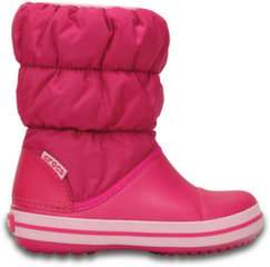 Crocs™ žieminiai batai Winter Puff Boot Kids, Cdy Pink