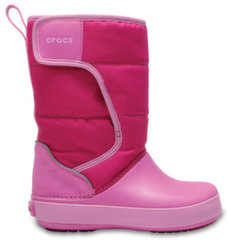 Crocs™ зимние сапоги LodgePoint Snow Boot, K CPk/PtPk