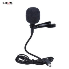SJCam Original SJ6 SJ7 Star SJ360 External 1.5m Cable Microphone with Clip and Mini USB 5Pin Connection
