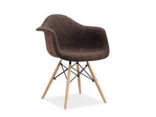 2-jų kėdžių komplektas Bono, rudas