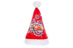 Kalėdinė kepurė CARS kaina ir informacija | Kalėdinės dekoracijos | pigu.lt