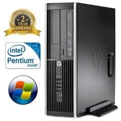 HP 6200 PRO SFF G620 2GB 160GB DVDRW WIN10Pro
