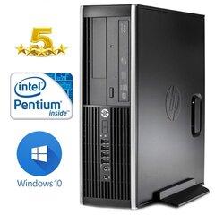 HP 6200 PRO SFF G620 2GB 320GB DVDRW WIN10Pro