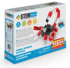Konstruktorius Animal Kingdom Skorpionas Stem Heroes Engino, Play to invent