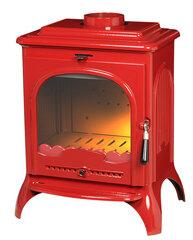 Чугунная печь Invicta Seville 2, красная эмаль цена и информация | Печи | pigu.lt