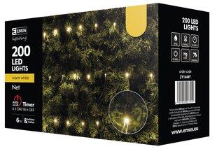 Kalėdinė girlianda-tinklas EMOS 200LED 3,5x1m