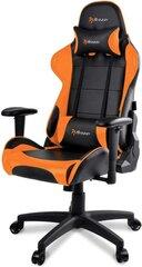 Žaidimų kėdė Arozzi Verona V2 Or, juoda/oranžinė