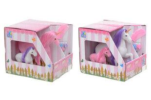 2 arkliukai vienaragiai su priedais kaina ir informacija | Žaislai mergaitėms | pigu.lt
