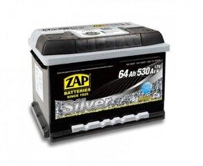 Akumuliatorius ZAP Silver 64Ah 530A