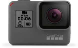 GoPro Hero6 Black, Pilka