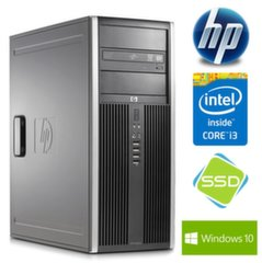 HP 8200 Elite TW i3-2100 8GB 120SSD DVD WIN10Pro