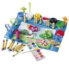 Kūrybinis rinkinys su formuojama mase ir piešimo priemonėmis, Smiki
