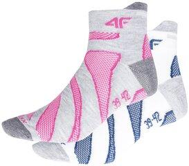 Kojinės moterims 4F SOD003 (2 vnt.) kaina ir informacija | Pėdkelnės, kojinės | pigu.lt
