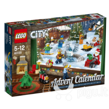 60155 LEGO® City advento kalendorius